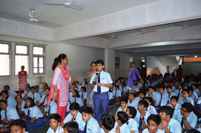 STUDENTS INTERACTION